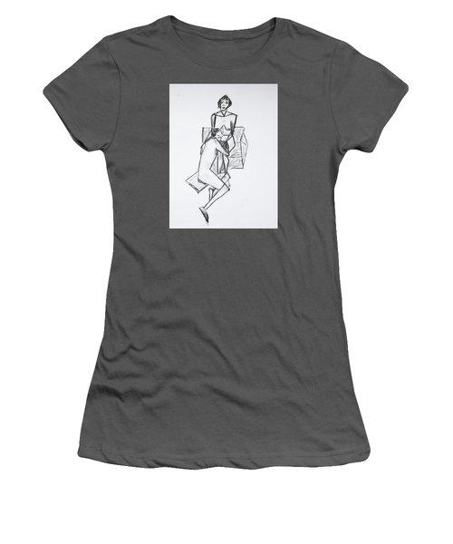 Untitled Women's T-Shirt (Junior Cut) by Tamara Savchenko