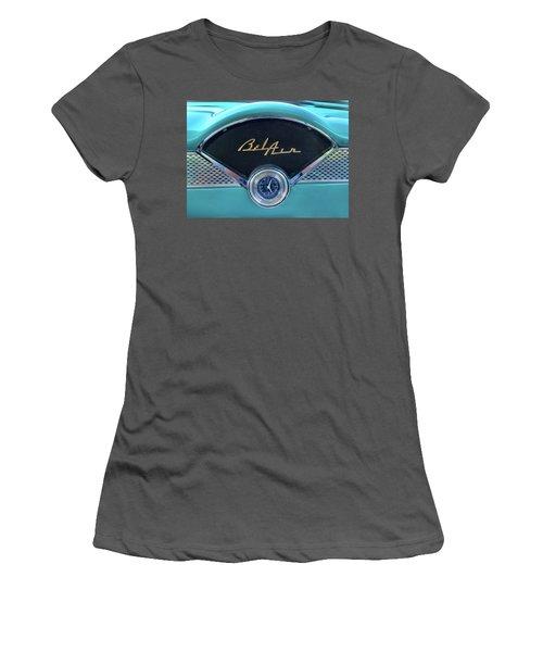 55 Chevy Dash Women's T-Shirt (Athletic Fit)