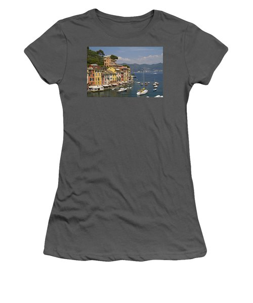 Portofino In The Italian Riviera In Liguria Italy Women's T-Shirt (Athletic Fit)