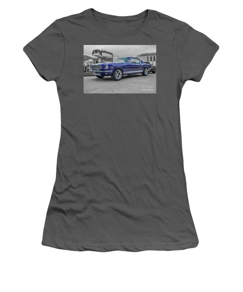 65' Mustang Women's T-Shirt (Athletic Fit)