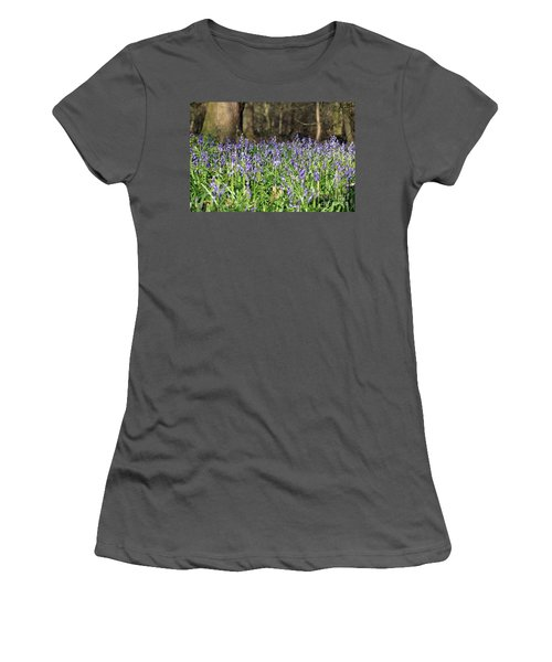 Bluebells At Banstead Wood Surrey Uk Women's T-Shirt (Athletic Fit)