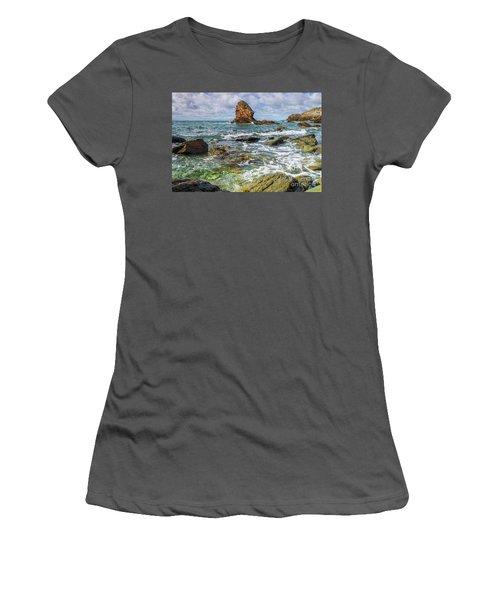 Women's T-Shirt (Junior Cut) featuring the photograph Gwenfaens Pillar by Ian Mitchell