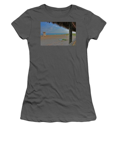 Women's T-Shirt (Junior Cut) featuring the photograph 7- Southern Beach by Joseph Keane