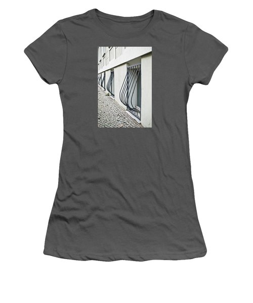 Window Bars Women's T-Shirt (Athletic Fit)