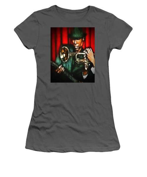 Dazzle Women's T-Shirt (Athletic Fit)