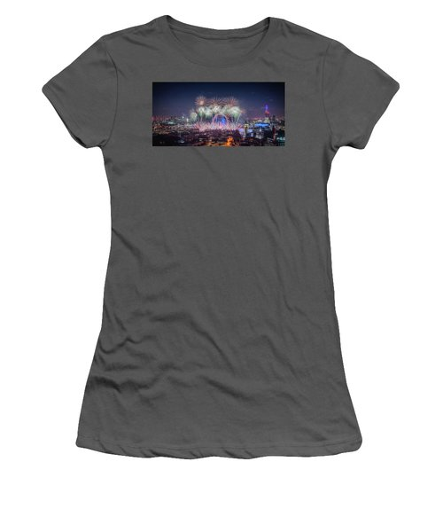 Happy New Year London Women's T-Shirt (Athletic Fit)