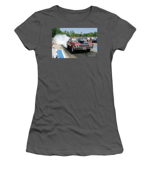 8673 06-15-2015 Esta Safety Park Women's T-Shirt (Athletic Fit)