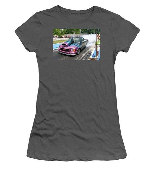 8679 06-15-2015 Esta Safety Park Women's T-Shirt (Athletic Fit)