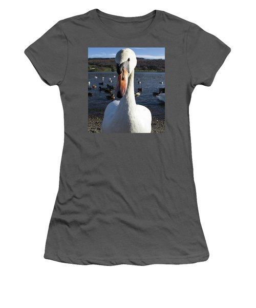 A Bit Close Women's T-Shirt (Athletic Fit)