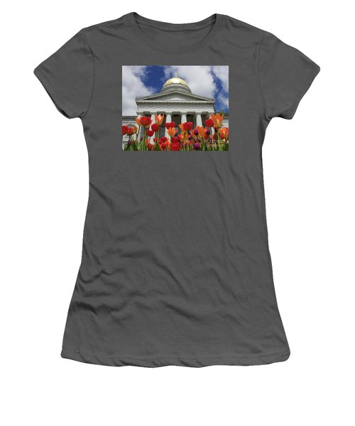 A Capitol Day Women's T-Shirt (Junior Cut) by Alice Mainville