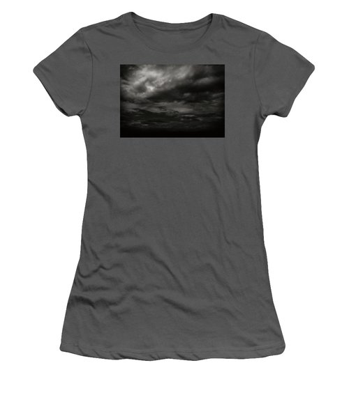 A Dark Moody Storm Women's T-Shirt (Athletic Fit)