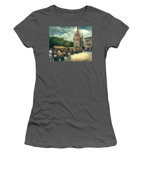 A Day With The Family Women's T-Shirt (Athletic Fit)
