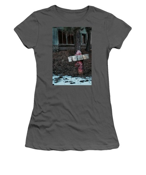 A Dog's Dream Women's T-Shirt (Athletic Fit)
