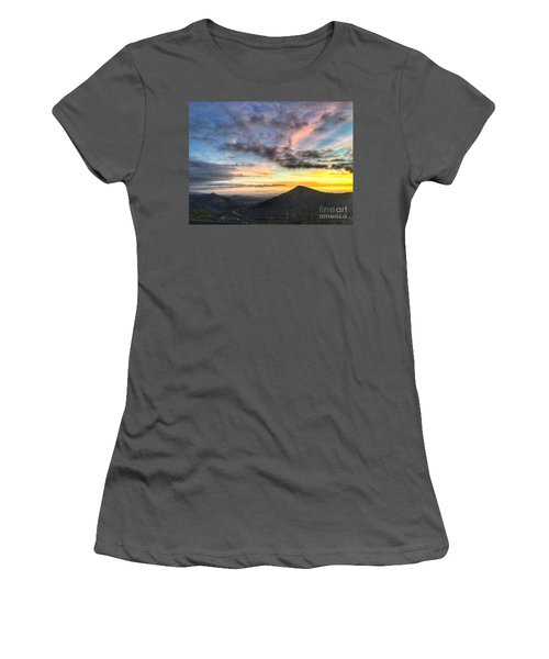 A Feeling Of The Presence Of God - Digital Painting Women's T-Shirt (Athletic Fit)