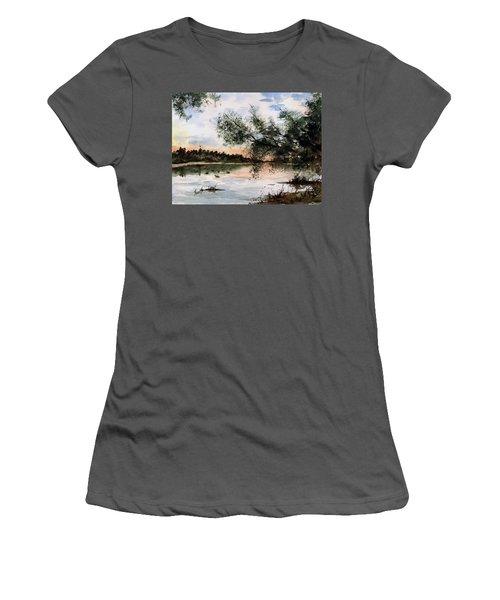 A New Day Women's T-Shirt (Junior Cut) by Sam Sidders