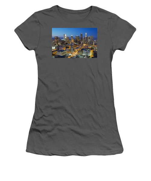 A Night In L A Women's T-Shirt (Athletic Fit)
