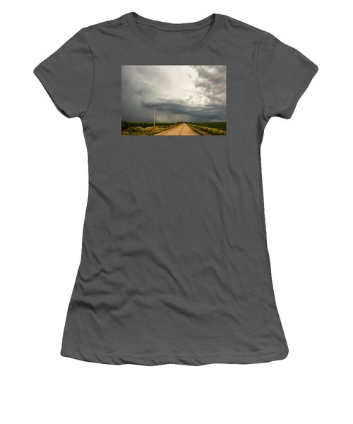 A Passion For Shelf Clouds 001 Women's T-Shirt (Athletic Fit)