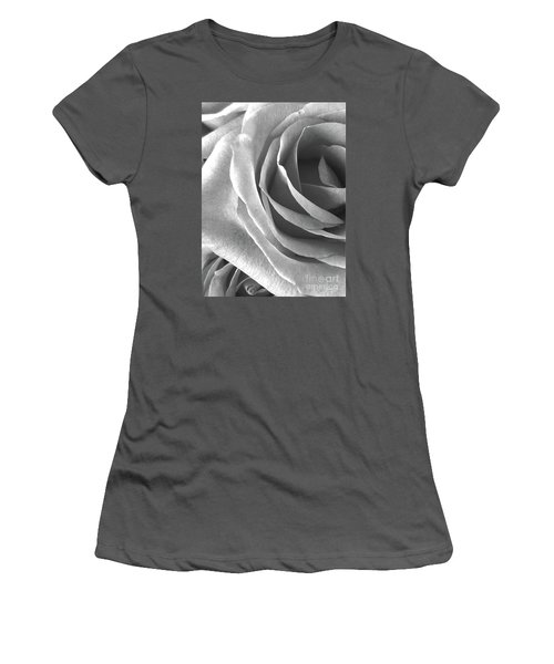A Portrait Of Rose Women's T-Shirt (Junior Cut) by Gem S Visionary