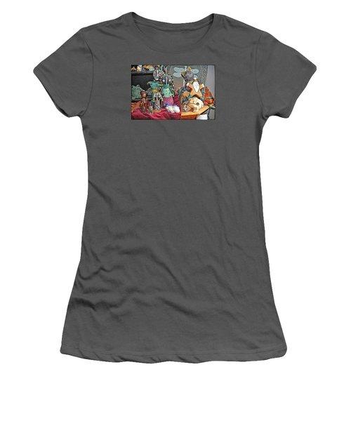A Prayer Of Thanksgiving Women's T-Shirt (Junior Cut) by Tobeimean Peter
