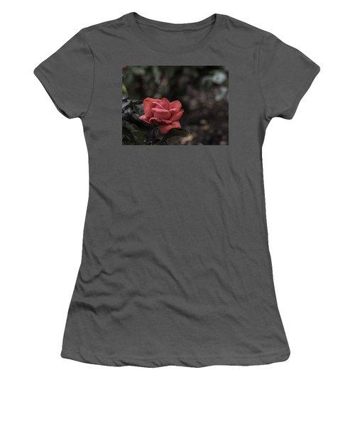 A Red Beauty Women's T-Shirt (Junior Cut) by Ed Clark
