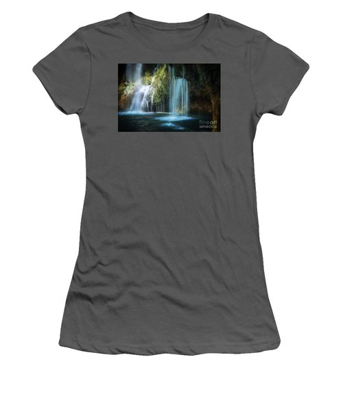 A Resting Place At Natural Falls Women's T-Shirt (Athletic Fit)