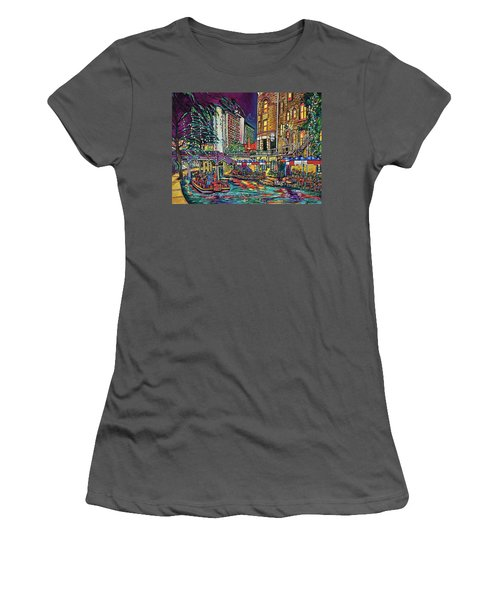 A San Antonio Christmas Women's T-Shirt (Athletic Fit)