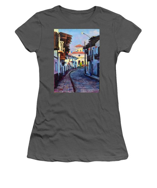 A Small Town Women's T-Shirt (Athletic Fit)