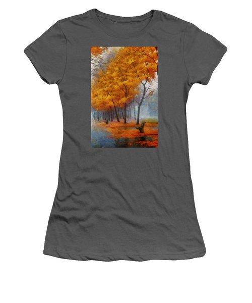 A Stand For Autumn Women's T-Shirt (Junior Cut) by Mario Carini