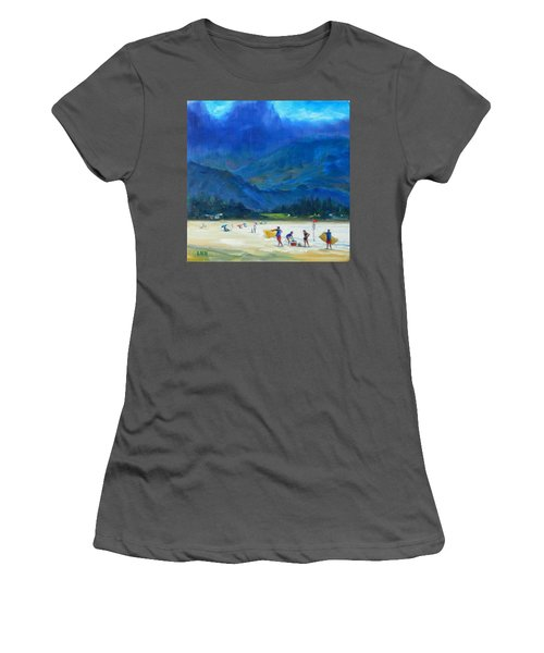 A Summer Day Women's T-Shirt (Athletic Fit)