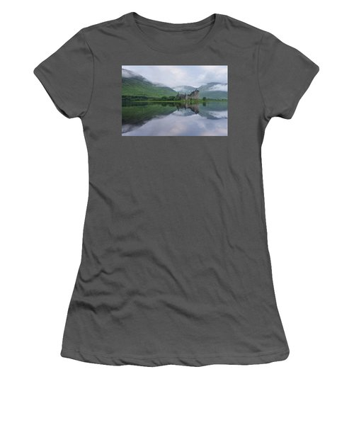 A Summers Morning At Kilchurn Women's T-Shirt (Athletic Fit)