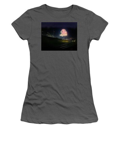 A Train's A Comin' 1948 Women's T-Shirt (Junior Cut) by J Griff Griffin
