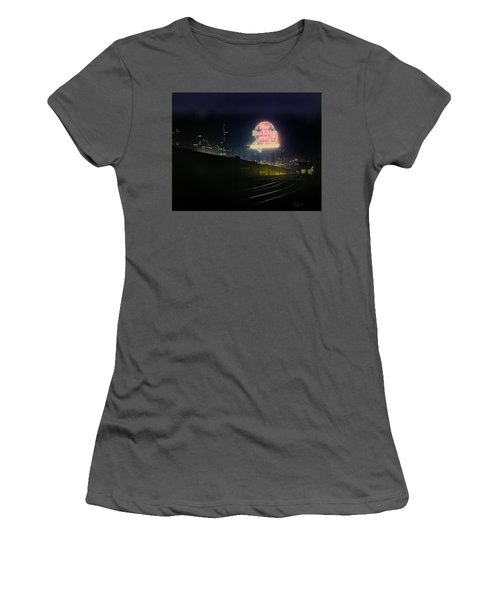 A Train's A Comin' 1948 Women's T-Shirt (Athletic Fit)