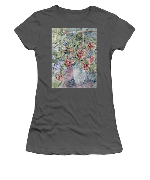 A Vase Of Lilies Women's T-Shirt (Athletic Fit)