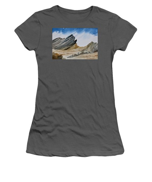 A Walk In The Desert Women's T-Shirt (Athletic Fit)