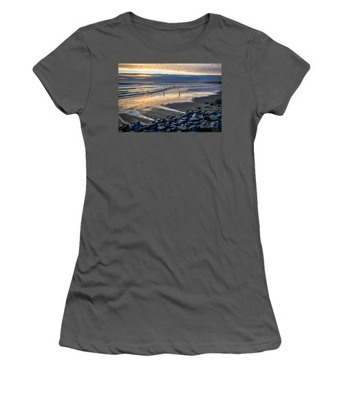 A Walk In The Evening Women's T-Shirt (Junior Cut) by Juergen Klust