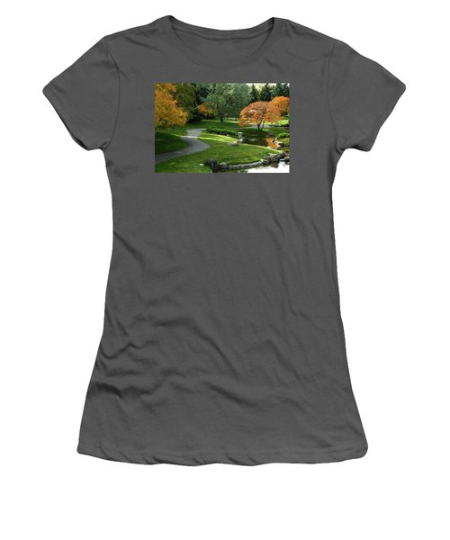 A Walk In The Garden Women's T-Shirt (Athletic Fit)