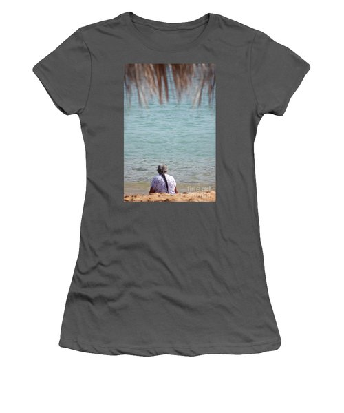 A Window With A View Women's T-Shirt (Athletic Fit)