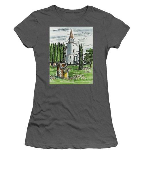 A Wisconsin Beauty Women's T-Shirt (Junior Cut) by Terry Banderas