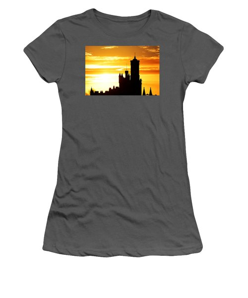 Aberdeen Silhouettes - Landscape Women's T-Shirt (Athletic Fit)