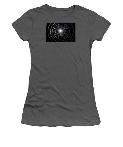 Women's T-Shirt (Junior Cut) featuring the photograph Aberdour Castle Dovecot by Jeremy Lavender Photography