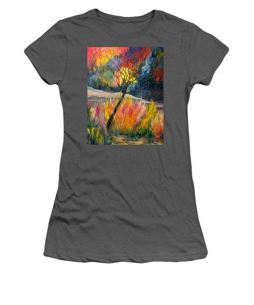 Ablaze Women's T-Shirt (Athletic Fit)
