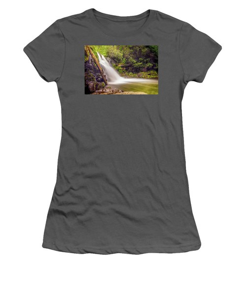 Abrams Falls Women's T-Shirt (Junior Cut) by David Cote