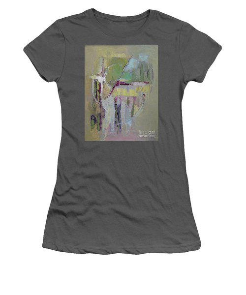 Abstract 1809a Women's T-Shirt (Athletic Fit)