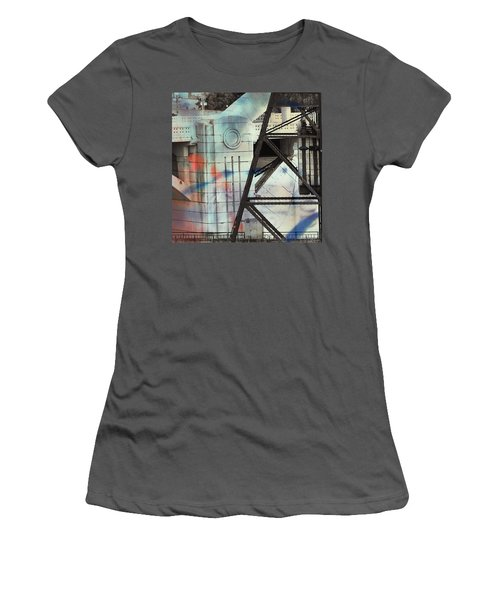 Abstract Architecture Women's T-Shirt (Athletic Fit)