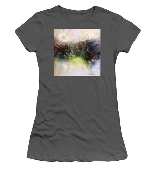 Abstract Contemporary Art Women's T-Shirt (Junior Cut) by Patricia Lintner