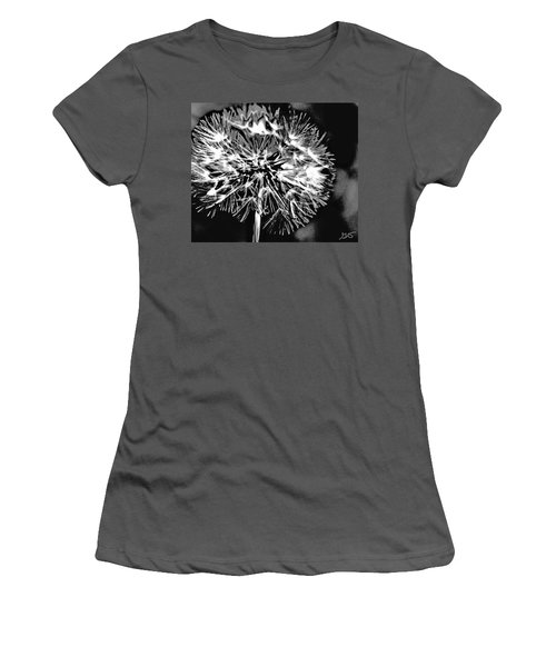 Abstract Dandelion Women's T-Shirt (Athletic Fit)
