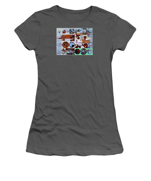 Abstract Painting - Heather Women's T-Shirt (Athletic Fit)