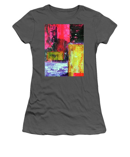 Abstractor Women's T-Shirt (Athletic Fit)