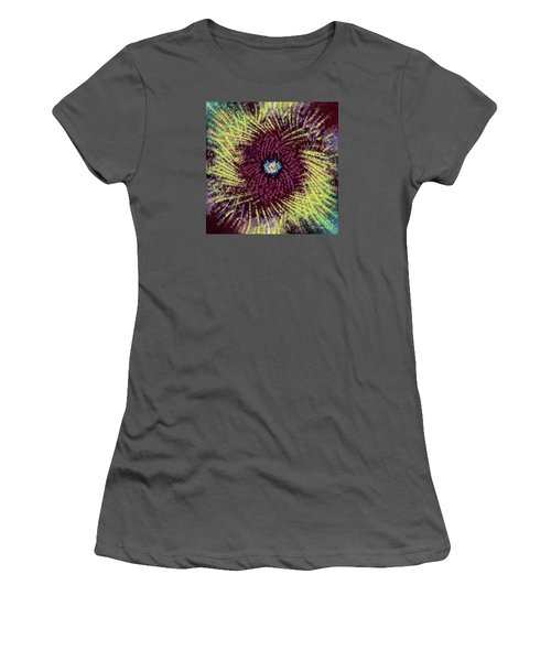 Women's T-Shirt (Junior Cut) featuring the photograph Abstract Swirl 02 by Jack Torcello