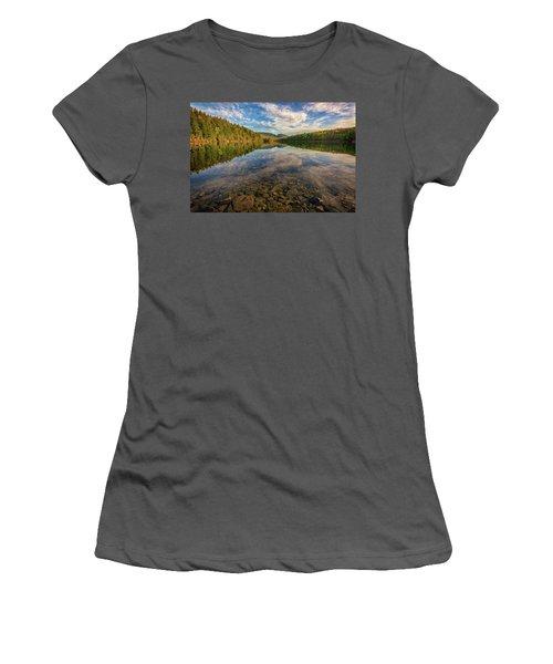 Acadian Reflection Women's T-Shirt (Junior Cut) by Rick Berk